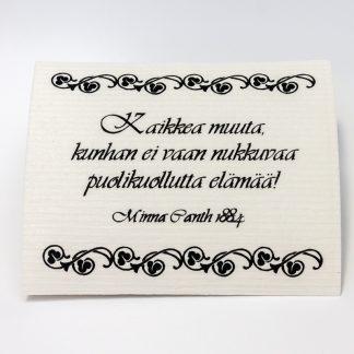 Minna Canth -tiskirätti (4190006)
